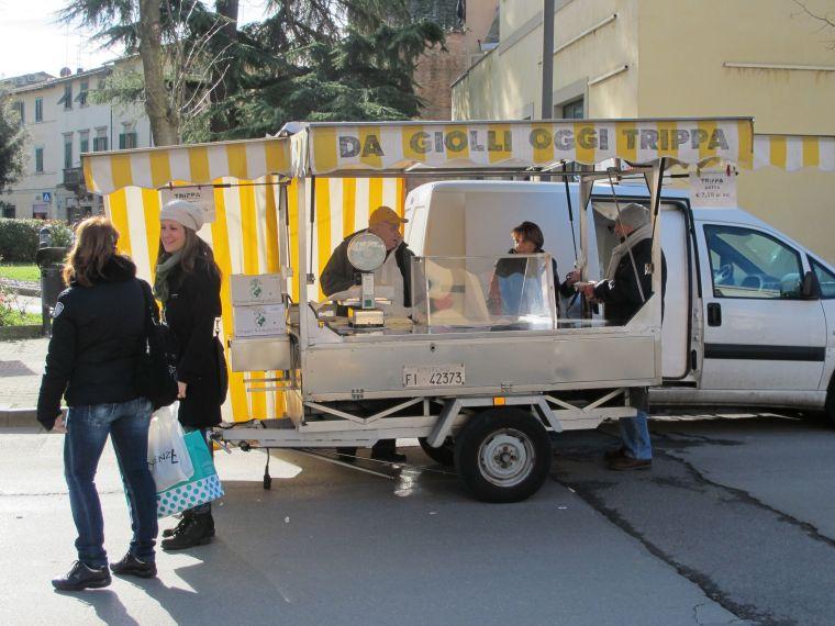 Castelfiorentino Market Day- Tripe Truck