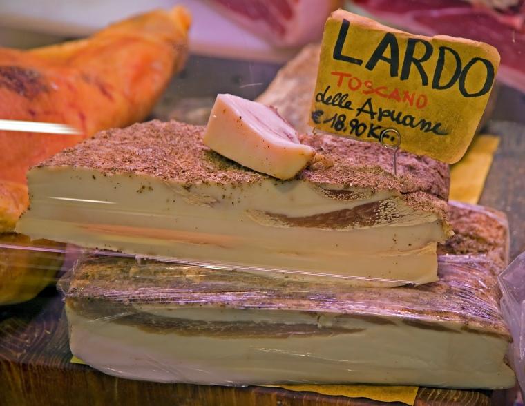 Lardo- Mercato Centrale- Firenze