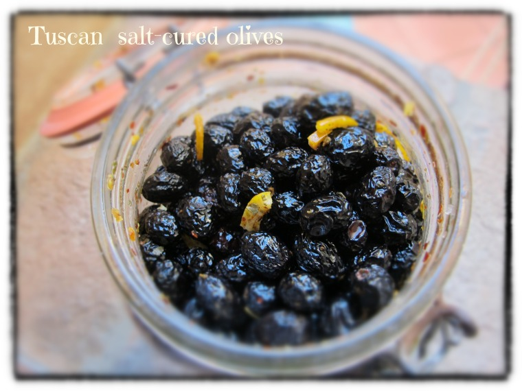Salt-Cured Olives