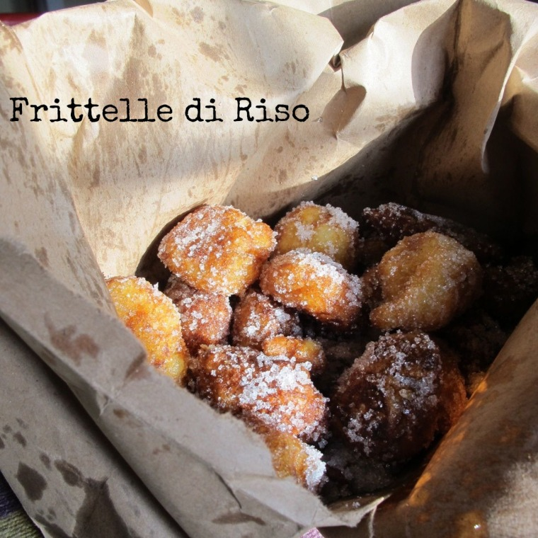 frittelle di riso for father's day-